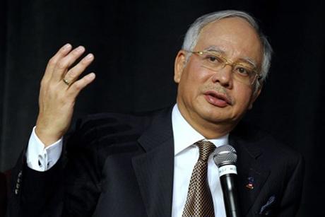 Thủ tướng Malaysia Najib Razak. (Ảnh: