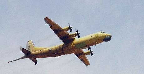 Chiến đấu cơ Y-8GX6. (Ảnh: