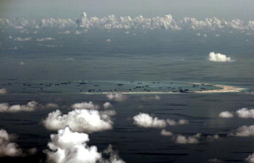 Trung Quốc đưa ra yêu sách chủ quyền với phần lớn Biển Đông. (Ảnh: