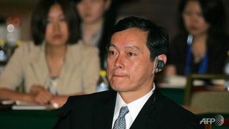 Thứ trưởng Ngoại giao Nhật Bản Akitaka Saiki tham dự cuộc đối thoại ngày 8/6. (Ảnh: