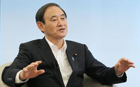 Chánh Văn phòng Nội các Nhật Bản Yoshihide Suga. (Ảnh: