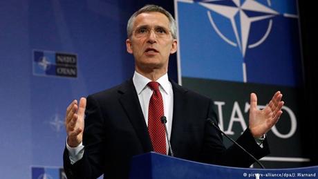 Tổng thư ký NATO Jens Stoltenberg. (Ảnh: