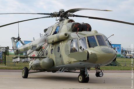 Trực thăng quân sự Mi-8MTV-5 của Nga. (Ảnh: