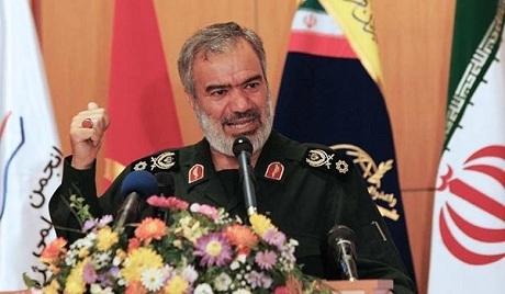 Chuẩn Đô đốc Ali Fadavi. (Ảnh:
