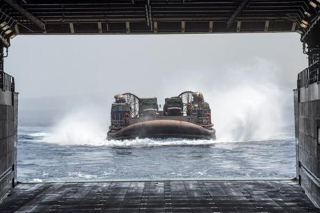 Hải quân Mỹ đang có kế hoạch phát triển mẫu tàu đổ bộ tấn công thế hệ mới. (Ảnh: