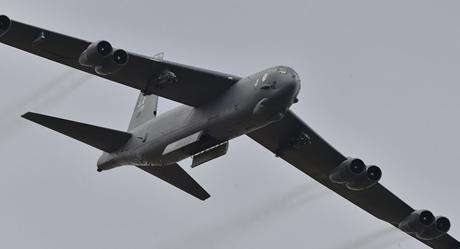 Máy bay ném bom tầm xa của Mỹ (Ảnh: