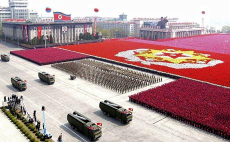 Một buổi lễ duyệt binh của Triều Tiên. (Ảnh: