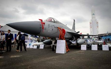 Mẫu máy bay chiến đấu JF-17 mà Trung Quốc bán cho quân đội Pakistan (Ảnh: