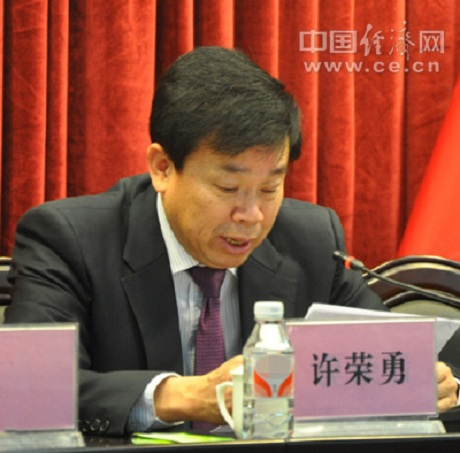 Hứa Vinh Dũng, cựu Trưởng ban tuyên giáo thành Ủy Chương Châu, tỉnh Phúc Kiến. (Ảnh: