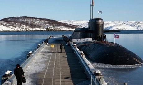 Mátxcơva đang phát triển sơn tàng hình cho tàu chiến tại khu vực Bắc Cực. (Ảnh: