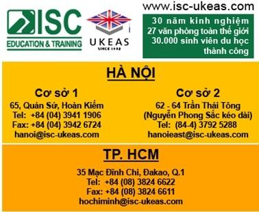 Tháng 4/2013, ISC tổ chức tháng