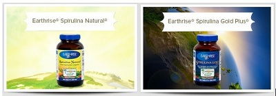 Tảo Mặt trời tự nhiên dạng viên và Tảo Mặt trời Gold Plus.