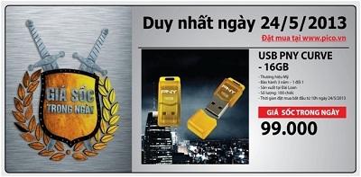 Sản phẩm giá 'sốc' đặc biệt được bán tại website Pico vào ngày Thứ 6 (24/5/2013).