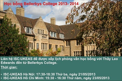 Bellerbys College _ Cơ sở tại Cambridge.