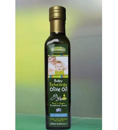 Dầu ô liu Baby extra virgin là loại dầu tốt nhất cho bé.