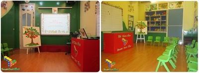 Phòng học kỹ năng sống tiêu chuẩn tại các hệ thống SmartFastKids.