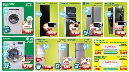Nhiều ưu đãi đặc biệt trợ giá người tiêu dùng tại Điện máy HC