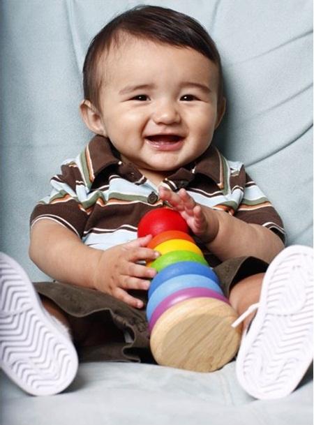Bụng vui giúp bé khoẻ mạnh và thông minh hơn
