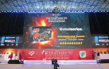 Giải thưởng rút thăm may mắn của nhà tài trợ SteelSeries