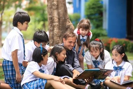 Chương trình học đa dạng, giúp các em hứng thú, say mê qua các phương pháp dạy gợi mở.