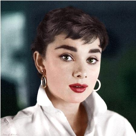…Audrey Hepburn…