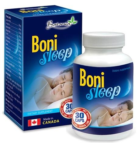 BoniSleep – Không còn căng thẳng, lo âu, mất ngủ