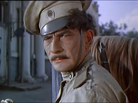 Tạo hình của nhân vật Gregori trên phim.