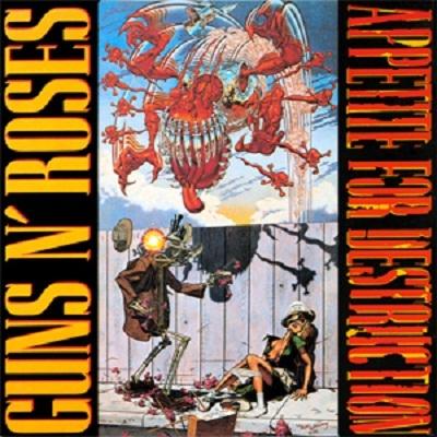 Appetite for Destruction – Guns n Roses (1987)