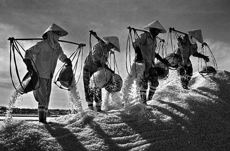 """""""Vị mặn cuộc đời"""" – Ngô Quang Phúc đoạt giải nhất cuộc thi ảnh CGAP 2011"""