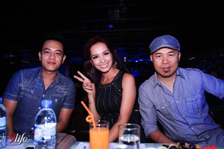 DJ Hoàng Anh - Người mẫu Thuý Hạnh - Nhạc sĩ Huy Tuấn