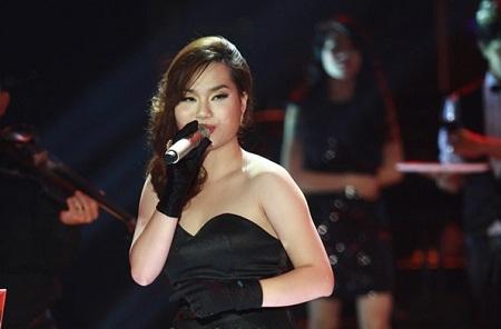 Nguyễn Hoài Bảo Anh với bài hát