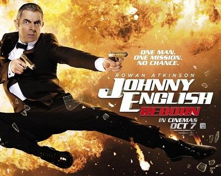 Atkinson còn rất nổi tiếng với vai Johnny English – một vai hài nhại lại hình tượng Điệp viên 007