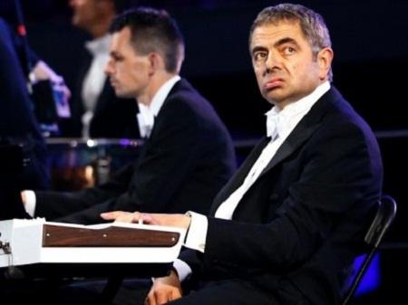 Mr. Bean trong buổi lễ khai mạc Thế vận hội Olympic London