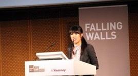 Cô gái gốc Việt tiếp tục đoạt giải Falling Walls Lab