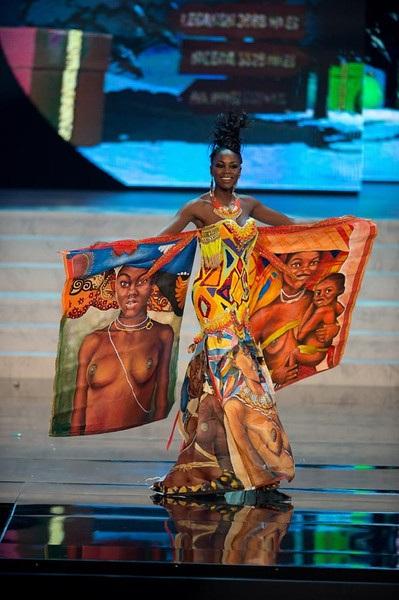 Miss Angola- Marcelina Vahekeni