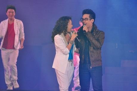 Tiết mục song ca ấn tượng giữa Mỹ Tâm và Hà Anh Tuấn