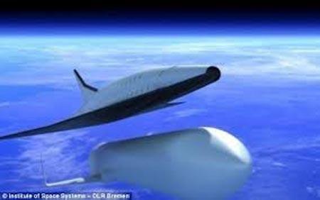 Mô hình máy bay chở khách có tốc độ gấp 24 lần âm thanh.