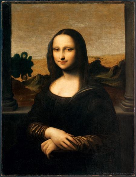 Bức Mona Lisa trẻ
