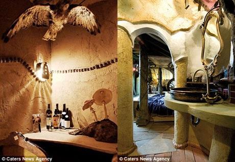 Thiết kế của khách sạn lấy cảm hứng từ những câu chuyện cổ tích bốn phương.