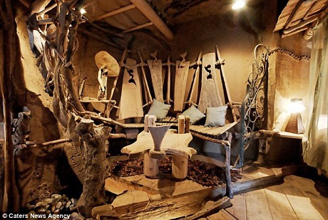 Căn phòng thiết kế với cảm hứng từ những nông trại cổ xưa.