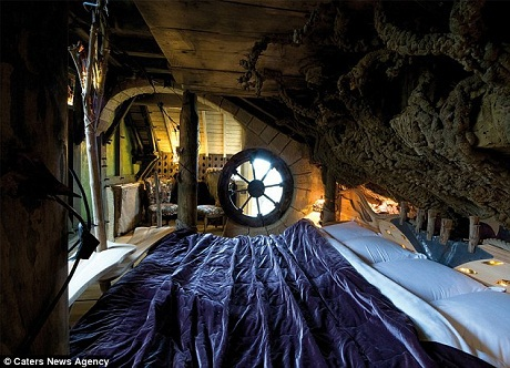 Phòng ngủ của thuyền trưởng.