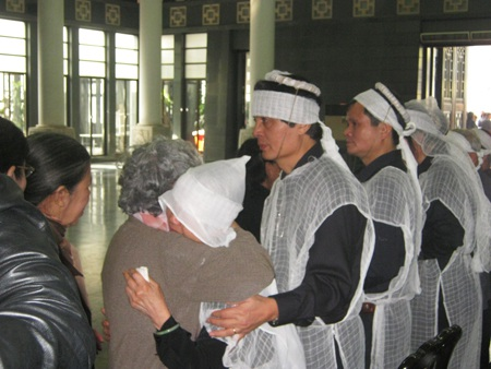 Sự chia sẻ đối với vợ NSND Hải Ninh