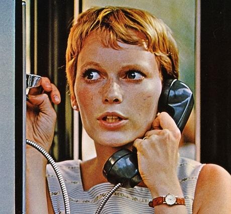 """Mái tóc ngắn cắt tém của Mia Farrow trong """"Rosemary's Baby"""""""