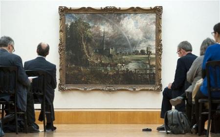 Nước Anh vui khi giữ lại được bức tranh quý trị giá hơn 700 tỷ