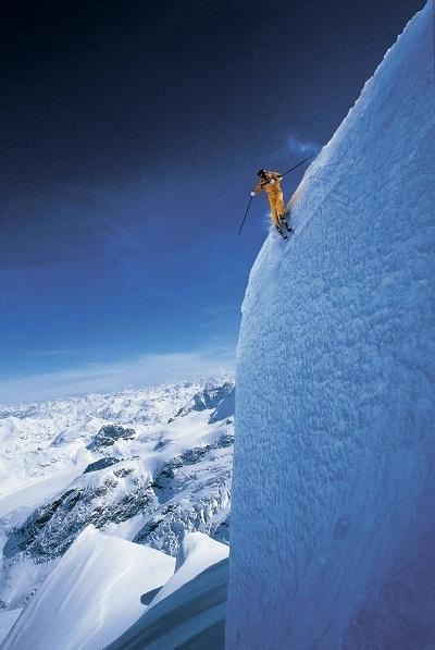 Trượt tuyết ở dãy núi Grand Targhee ở bang Wyoming, Mỹ.