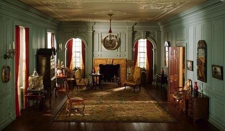 Phòng khách ở bang Virginia năm 1754