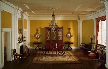 Phòng khách ở bang Pennsylvania năm 1834