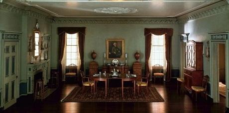 Phòng ăn ở bang Massachusetts năm 1795
