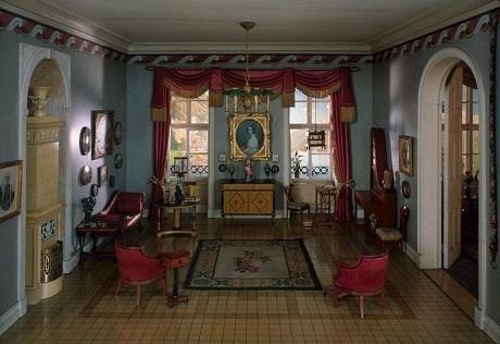Một phòng khách của Đức năm 1815