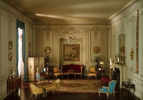 Một phòng ngủ của Pháp năm 1740